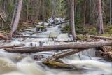Cataract Falls, Lower Cataract Lake, Eagles Nest Wilderness, Summit County, Colorado