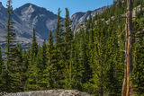 Pagoda Mountain, Rocky Mountain National Park, Mills Lake, Glacier Gorge