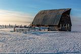 Barn, Frost, Fog, Snow, Steamboat Springs, Colorado