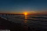 sun, sunrise, Deerfield Beach, Florida, fishing pier