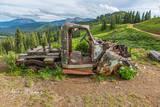 Mining Truck, Rust, Crested Butte, Colorado, Washington Gulch
