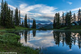 Paradise Divide, Crested Butte, Colorado, Sunset