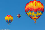 Albuquerque Balloon Fiesta, 2013, Hot Air Balloons, Mass Ascension