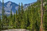 Pagoda Mountain, Rocky Mountain National Park, Mills Lake, Glacier Gorge