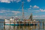 Miss Sandra, Amelia Island, nets, lobster traps, fishing boat, Florida