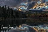Sunset, Woods Lake, Placerville, Colorado