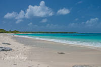Bikini Atoll, Bikini Atoll Beach, crescent beach, white sand, shells, azure water