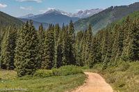Sawatch Range, Colorado, Red Cliff, Shrine Pass
