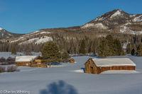 Homestead, snow, Steamboat Springs, Colorado