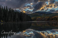 SUnset, Woods Lake, Telluride, Colorado
