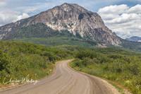 Marcellina Mountain, West Elk Mountain Range, Kebler Pass, Colorado