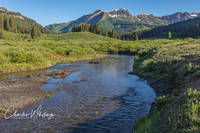 Gothic Mountain, East River, Crested Butte, Colorado