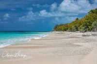 Bikini Atoll, Bikini Atoll Beach, white sand, shells, azure water