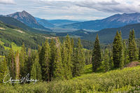 Crested Butte Valley, Colorado