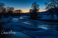 Elk Creek, Steamboat Springs, Colorado, Twilight