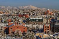Longs Peak, Lower Highlands, LoHi, Denver, snowfall, winter