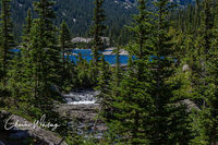Mills Lake, Glacier Gorge, Rocky Mountain National Park, Glacier Creek