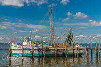 Miss Sandra, Amelia Island, nets, lobster traps, fishing boat