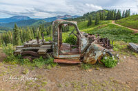 Mining Truck, Rust, Crested Butte, Colorado, Washington Gulch