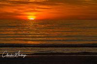Sunset, Siesta Key Beach, Sarasota, Florida