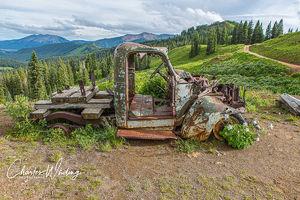 Rusting Mining Truck