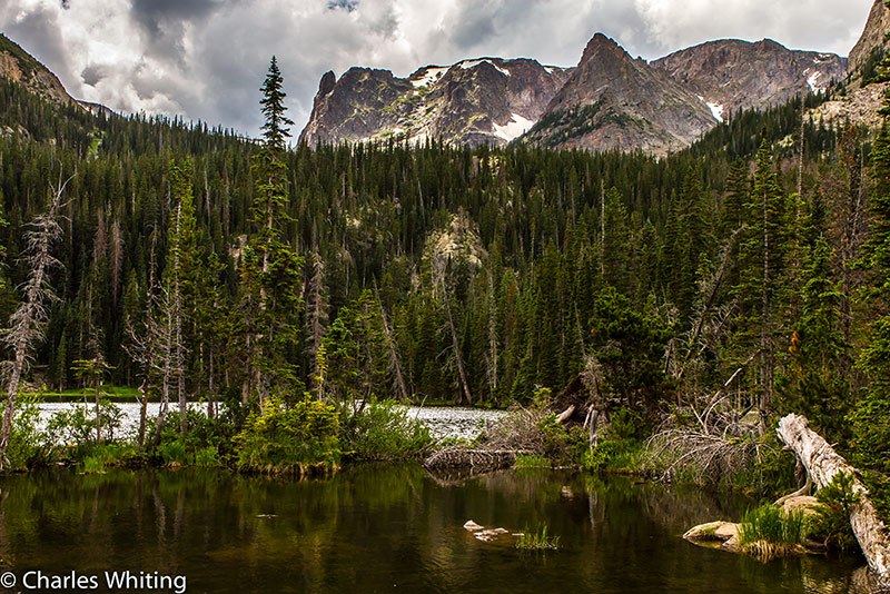 Fern Lake, Knobtop Mountain, Little Matterhorn, Rocky Mountain National Park, Odessa Gorge, photo