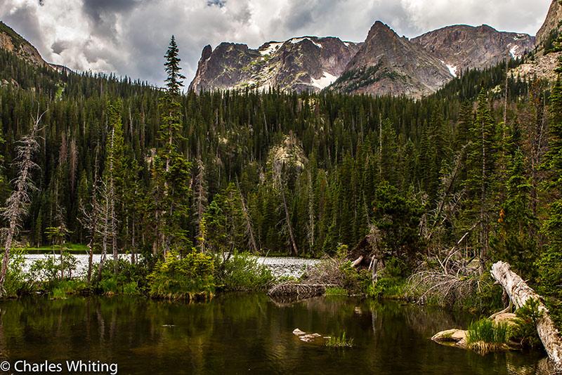 Fern Lake, Knobtop Mountain, Little Matterhorn, Rocky Mountain National Park, Odessa Gorge, photo
