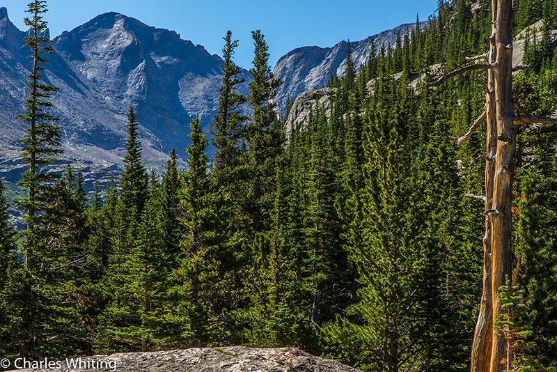 Pagoda Mountain, Rocky Mountain National Park, Mills Lake, Glacier Gorge, photo