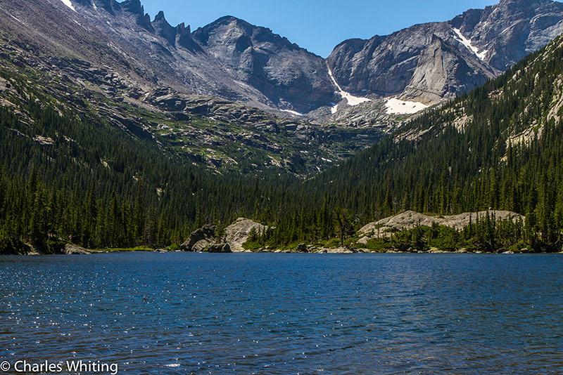Pagoda Mountain, Spearhead, Mills Lake, Glacier Gorge, Rocky Mountain National Park, photo