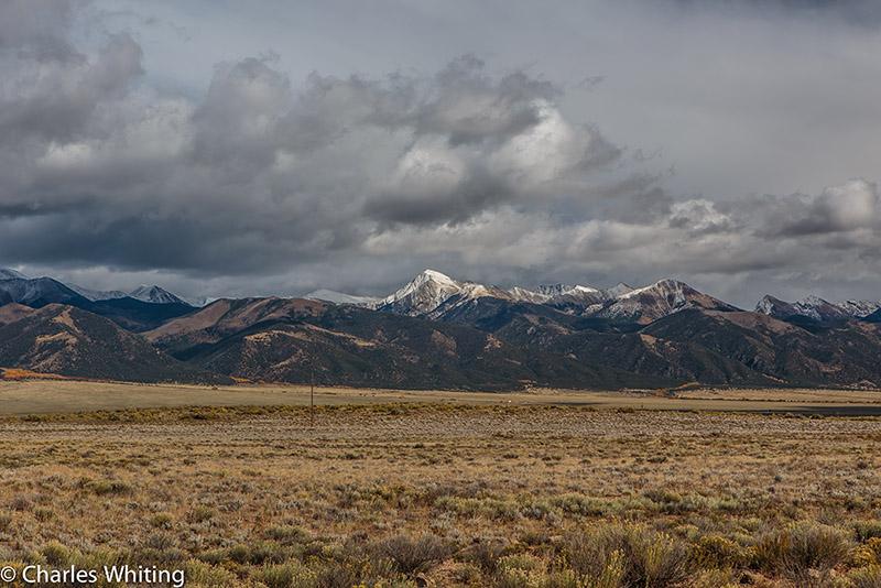 Sangre De Cristo Range, Storm clouds, clouds, Saguache County, Colorado, photo