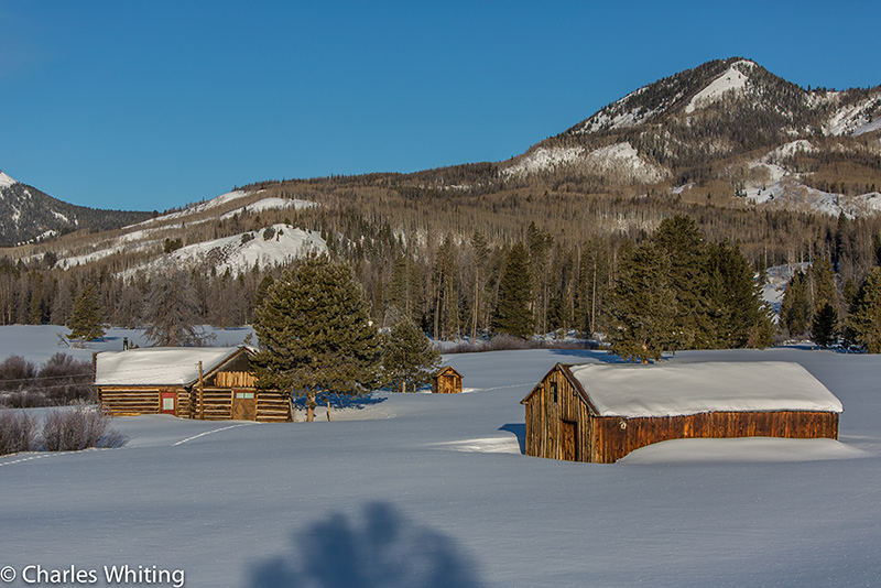 Homestead, snow, Steamboat Springs, Colorado, photo