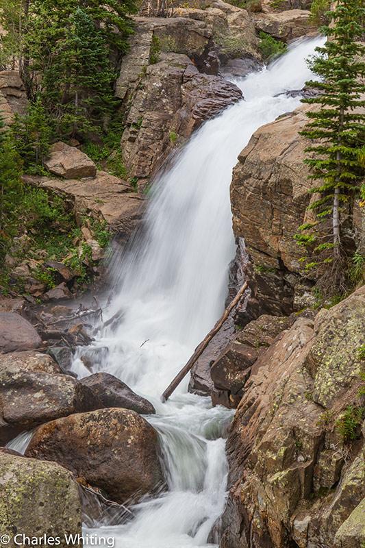 Alberta Falls, RNMP, Rocky Mountain National Park, Colorado, photo
