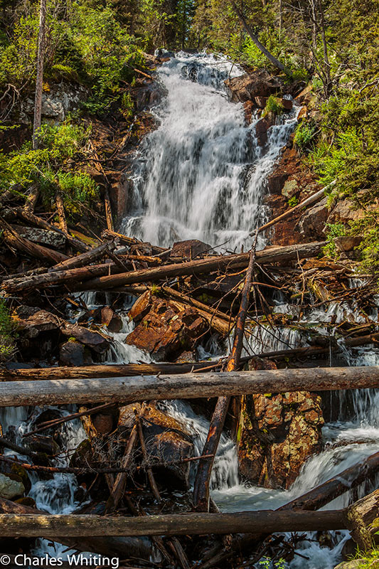 Fern Falls, Odessa Gorge, Rocky Mountain National Park, photo
