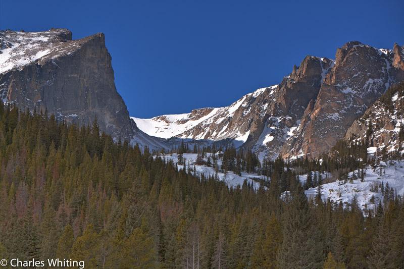 Hallett Peak, Tyndall Glacier, Tyndall Gorge, Bear Lake, Rocky Mountain National Park, photo