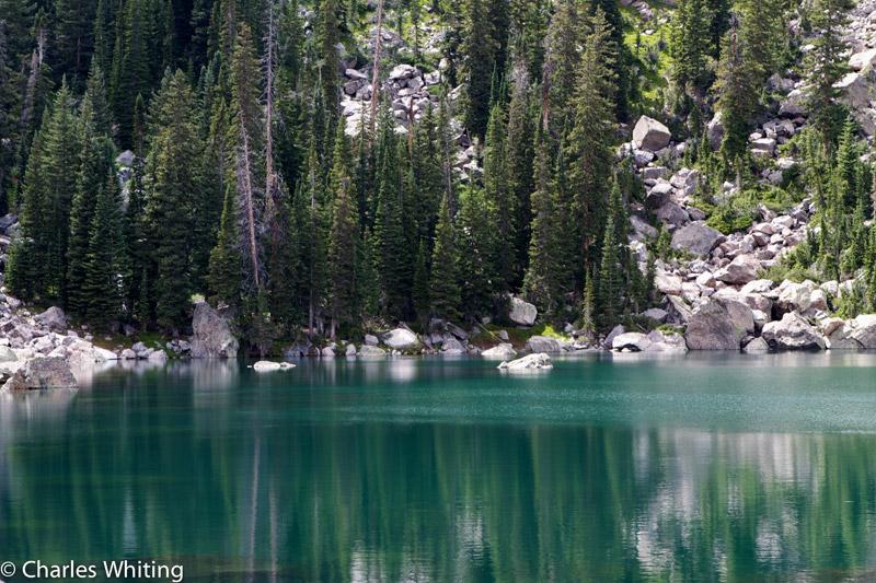 Lake Haiyaha, Chaos Canyon, Rocky Mountain National Park, photo