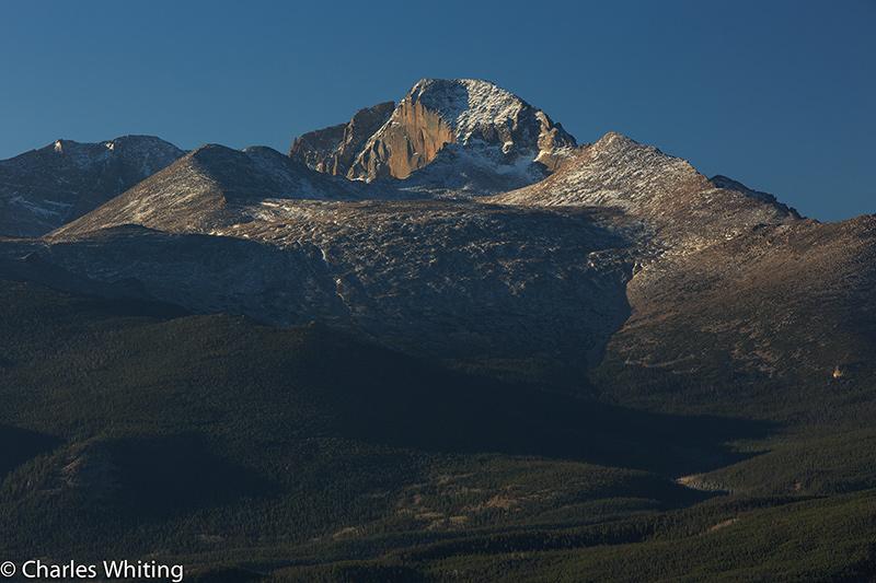 Longs Peak East Face, The Diamond, RNMP, Rocky Mountain National Park, Colorado, photo