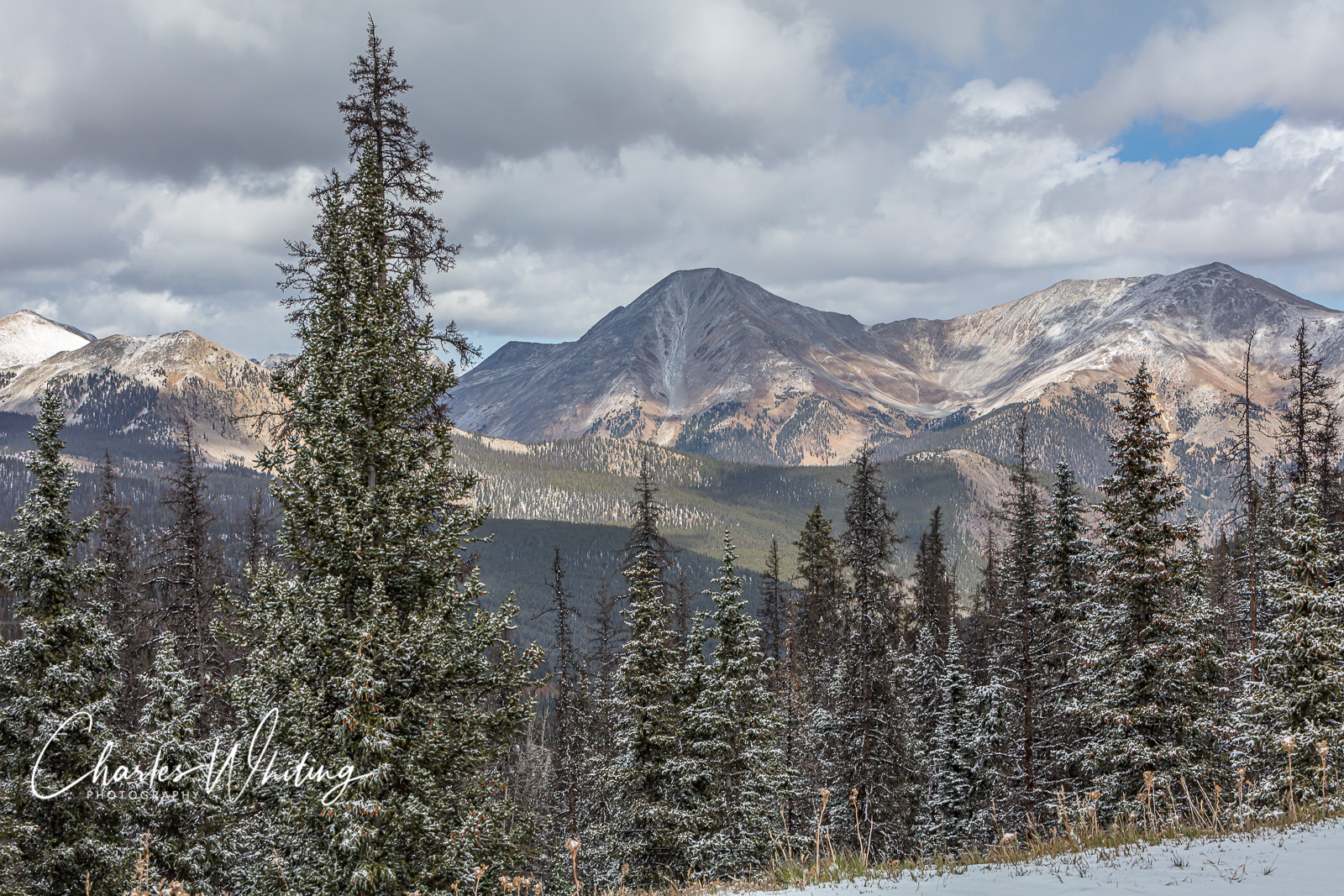 Mount Atena, Mount Taylor, Monarch Pass, Colorado, photo