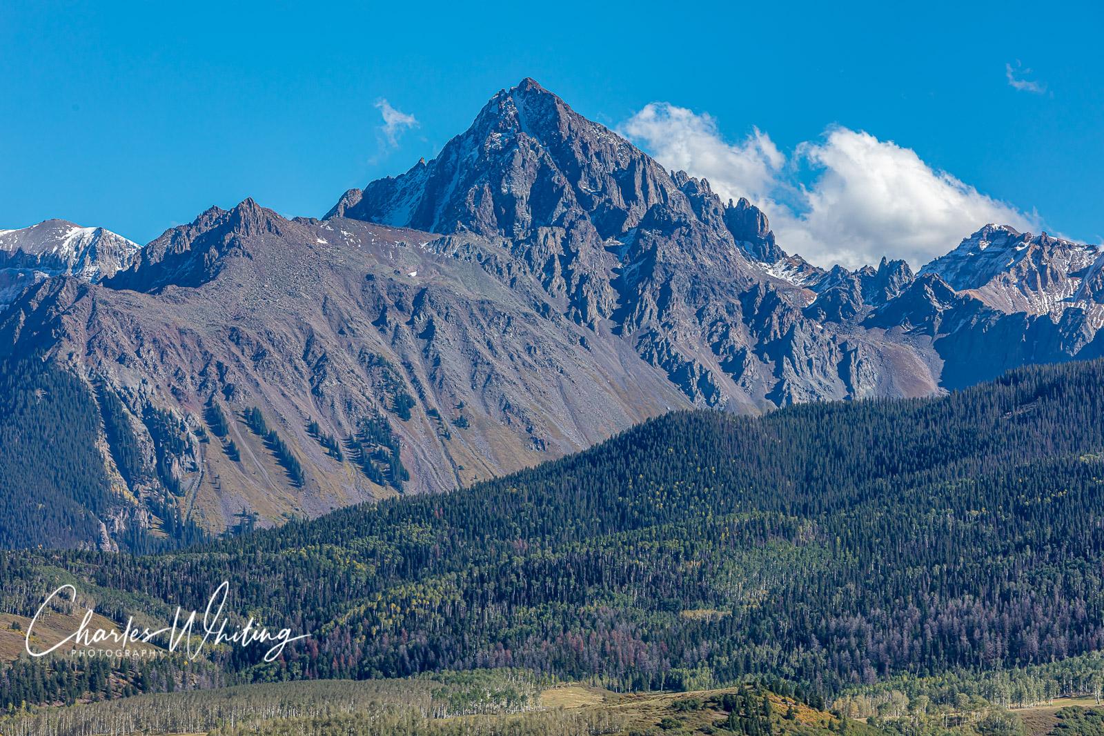Mount Sneffels, Sneffels Range, photo
