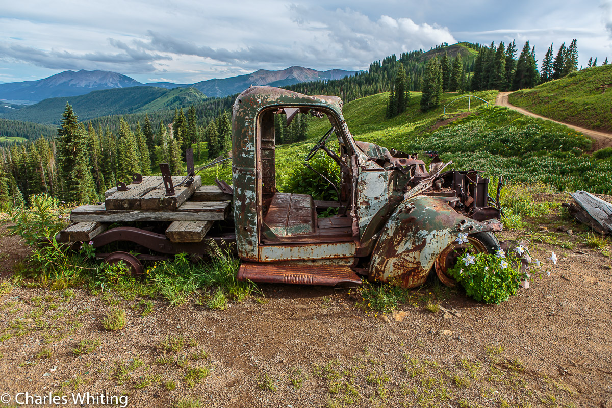 Mining Truck, Rust, Crested Butte, Colorado, Washington Gulch, photo
