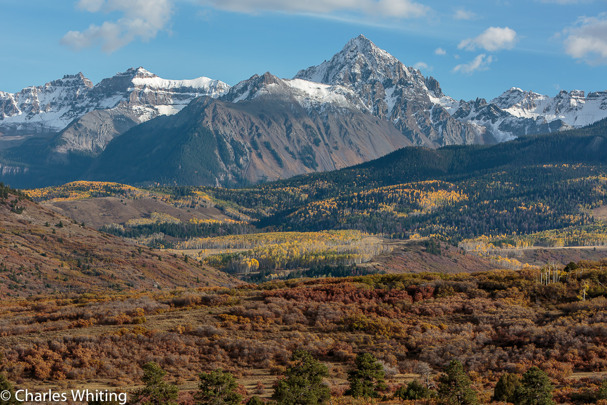 Mount Sneffels, Ouray, Colorado, Snow, photo