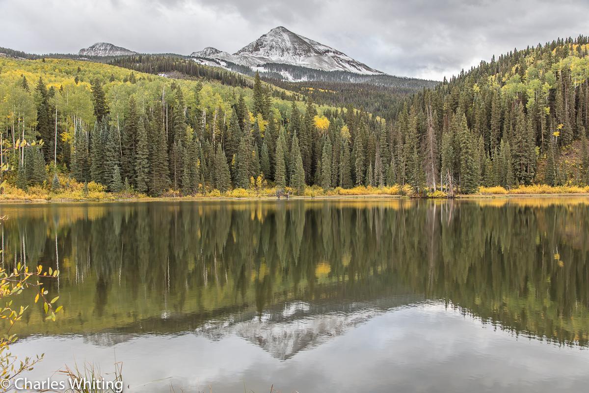 Wilson Peak, Woods Lake, Colorado