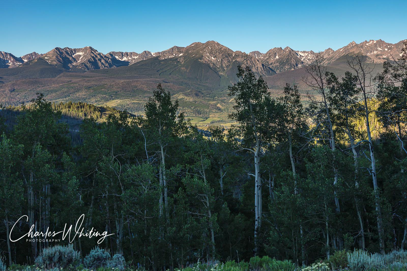Gore Range, Ute Pass, Summit County, Colorado, photo