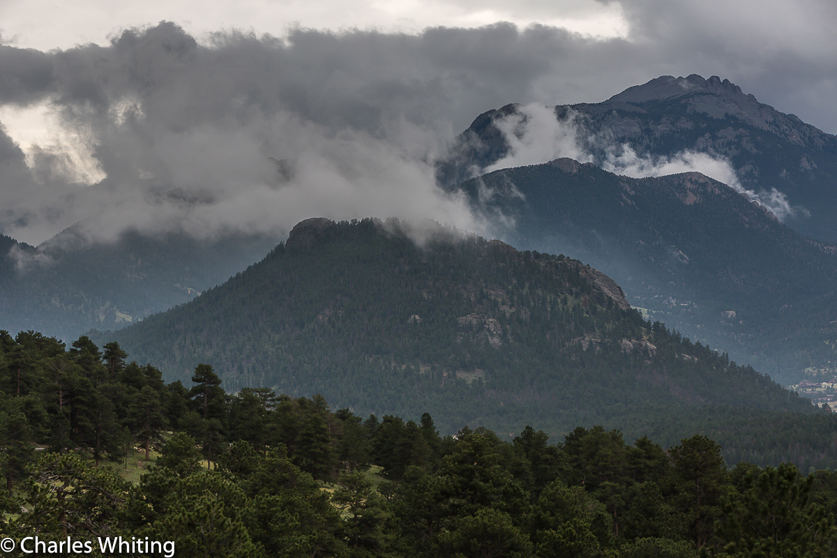 Storm, Valley, Rocky Mountain National Park, photo