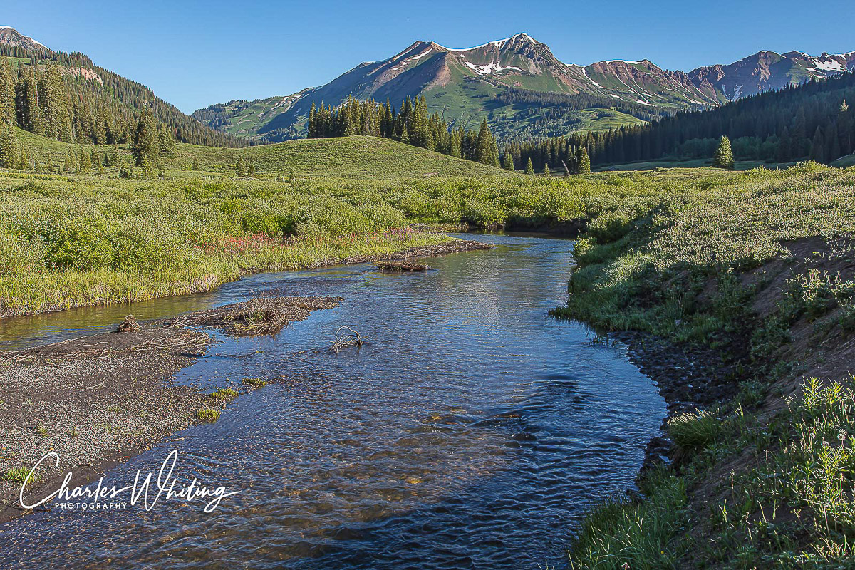 Gothic Mountain, East River, Crested Butte, Colorado, Schofield Pass, photo