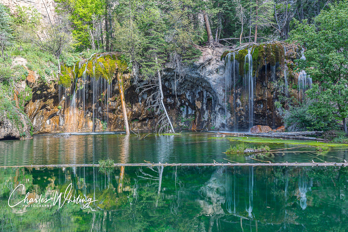 Hanging Lake is a beautiful high plateau lake in Glenwood Canyon, CO.