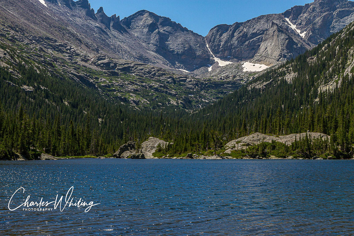 Pagoda Mountain, Spearhead, Mills Lake, Glacier Gorge, Rocky Mountain National Park, Keyboard of the Winds, photo
