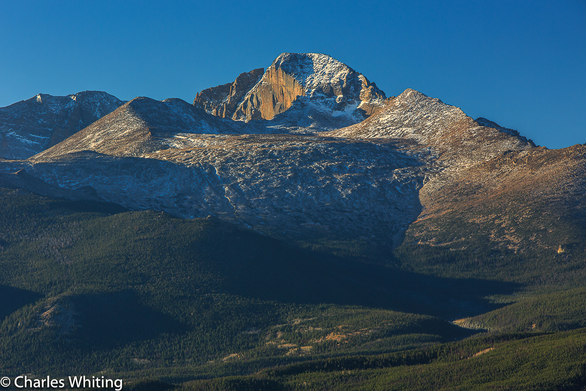Longs Peak East Face, The Diamond, RNMP, Rocky Mountain National Park, Colorado, photo