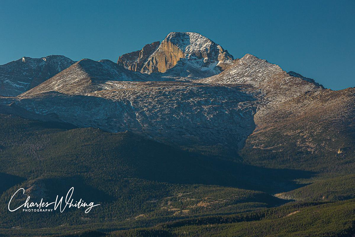 Longs Peak East Face, The Diamond, Rocky Mountain National Park, Colorado, Longs Peak, photo