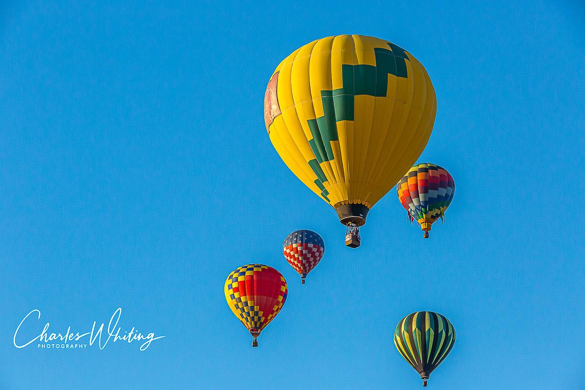 Albuquerque Balloon Fiesta, 2013, Hot Air Balloons, Mass Ascension, New Mexico, photo