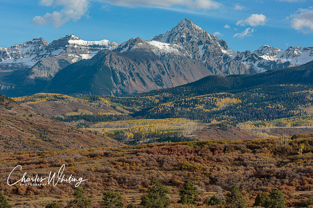 Mount Sneffels, Ridgeway, Colorado, Snow, photo